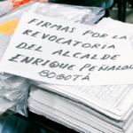 Revocatoria a Peñalosa: Una marcha de gigantes