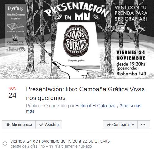 El libro se presentará el viernes 24 en Buenos Aires. Clic en la imagen.