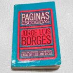 Prólogo de Roberto Fernández Retamar al libro ´Páginas escogidas. Jorge Luis Borges´, Casa de las Américas
