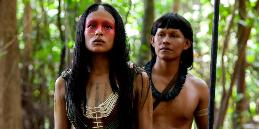 Ushé (Ángela Cano) secundada por Yua (Miguel Dionisio Ramos)