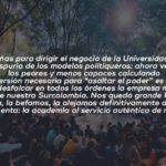 EL CLIENTELISMO ULTIMA NUESTRA UNIVERSIDAD
